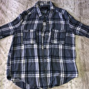 Kendall & Kylie Blue Flannel